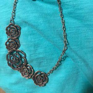 Necklace set copper